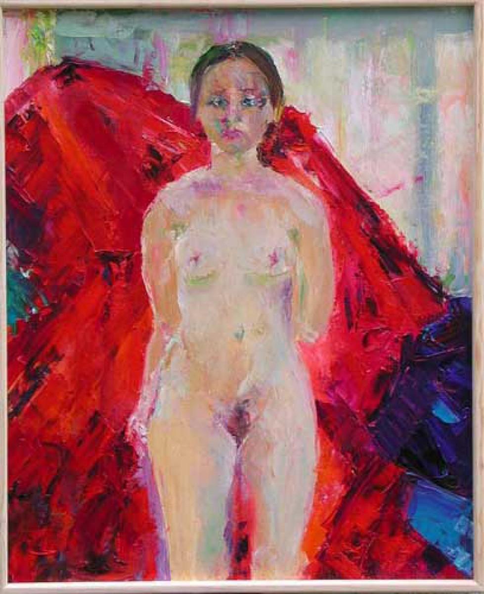 Fille Peint