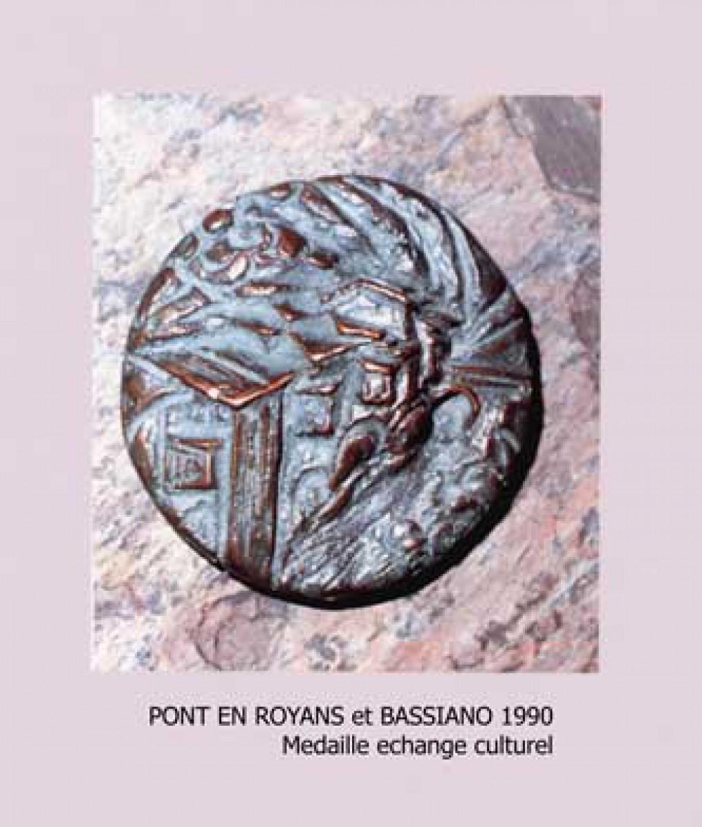 Medal (relief for the city of Pont en Royans)